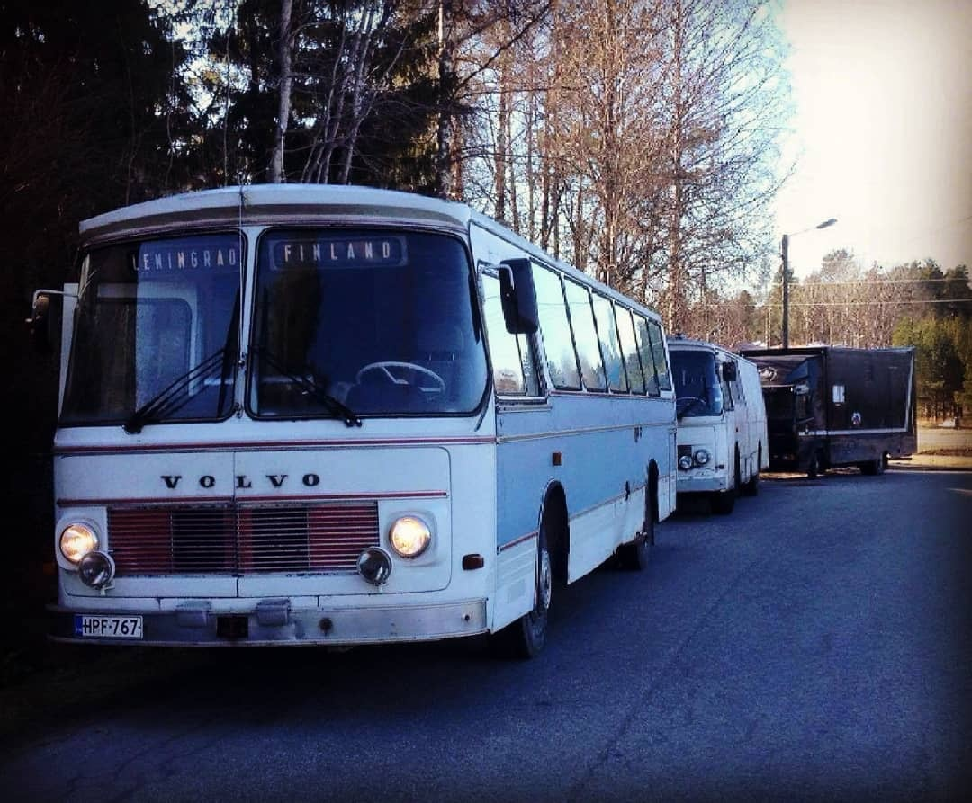 Keikkabussi Leningrad-Finland
