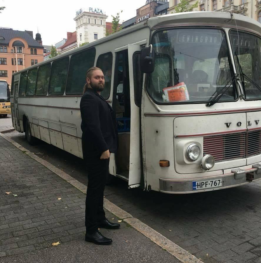Keikkabussi Leningrad-Turku
